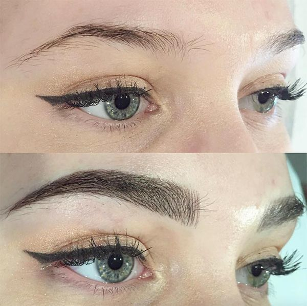 Before And After Microblading Gallery Bold 3d Brows